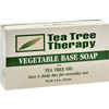 Tea Tree Therapy Vegetable Base Soap with Tea Tree Oil - 3.9 oz HGR 0676882