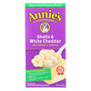 Annie's Homegrown Homegrown Macaroni and Cheese - Shells and White Cheddar - 6 oz - case of 12 HGR 0688978