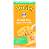 Annie's Homegrown Homegrown Macaroni and Cheese - Organic - Shells and Real Aged Cheddar - 6 oz - case of 12 HGR 0688994