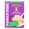 Annie's Homegrown Family Size Shells and White Cheddar Mac and Cheese - Case of 6 - 10.5 oz. HGR 0689133