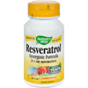 Vitamins OTC Meds Antioxidants: Nature's Way - Resveratrol - 60 Vegetarian Capsules