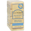 soaps and hand sanitizers: A La Maison - Bar Soap Unscented Value Pack - 3.5 oz Each / Pack of 4