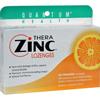 cough drops: Quantum Research - Quantum TheraZinc Cold Season Plus Lozenges Orange - 14 mg - 24 Lozenges