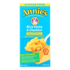 Annie's Homegrown Gluten Free Rice Pasta and Cheddar Mac and Cheese - Case of 12 - 6 oz. HGR 0713677