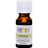 Aura Cacia Pure Essential Oil Nutmeg - 0.5 fl oz HGR 0714121