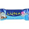 Clif Bar Clif Bar Luna Bar - Organic Chocolate Dipped Coconut - Case of 15 - 1.69 oz HGR 0716423