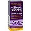hgr: Essential Health Products - Stop Snoring Throat Spray - 2 fl oz