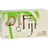 soaps and hand sanitizers: Organic Fiji - Organic Face and Body Coconut Oil Soap Tea Tree Spearmint - 7 oz