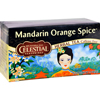 Celestial Seasonings Herbal Tea - Mandarin Orange Spice - 20 Bags HGR 0720920