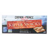 Kipper Snacks - Low In Sodium - Case of 18 - 3.25 oz..