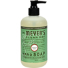 Mrs. Meyer's Liquid Hand Soap - Parsley - Case of 6 - 12.5 oz HGR 0723874