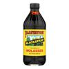 Plantation Blackstrap Molasses Syrup - Unsulphured - Case of 12 - 15 Fl oz.. HGR 0724500