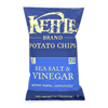 Potato Chips - Sea Salt and Vinegar - Case of 12 - 8.5 oz..