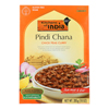Kitchen of India Dinner - Chick Peas Curry - Pindi Chana - 10 oz.. - case of 6 HGR 0734475