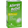 Stomach Relief: NatraBio - Allergy Relief Non-Drowsy - 60 Tablets