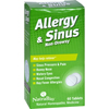 OTC Meds: NatraBio - Allergy and Sinus Non-Drowsy - 60 Tablets