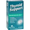 NatraBio Thyroid Support - 60 Tablets HGR 0737635