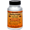 Vitamins OTC Meds Antioxidants: Healthy Origins - Natural Resveratrol - 300 mg - 60 Vegetarian Capsules