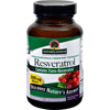 Vitamins OTC Meds Antioxidants: Nature's Answer - Resveratrol - 250 mg - 60 Vegetarian Capsules
