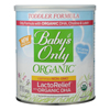 Baby's Only Organic Toddler Formula - Organic - LactoRelief - Lactose Free - 12.7 oz.. - Case of 6 HGR0748442