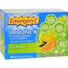 energy drinks: Emergen-C - Immune Plus System Support with Vitamin D Citrus - 30 Packets