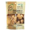 Go Organic Hard Candy - Ginger - 3.5 oz.. - Case of 6 HGR 0768887