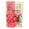 Go Organic Hard Candy - Cherry - 3.5 oz.. - Case of 6 HGR 0769075