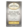 Black Tea - China Oolong - Case of 6 - 20 Bags