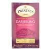 Twinings Tea Black Tea - Darjeeling - Case of 6 - 20 Bags HGR 0770933