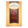 Twinings Tea Earl Grey Tea - Black Tea - Case of 6 - 20 Bags HGR 0770958