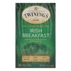 Twinings Tea Breakfast Tea - Irish - Case of 6 - 20 Bags HGR 0770974