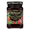 Dickinson Pure Seedless Cascade Mountain Red Raspberry Preserves - Case of 6 - 10 oz.. HGR 0784322
