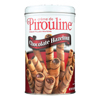 De Beukelaer Creme De Pirouline Rolled Wafers - Chocolate Hazelnut - Case of 6 - 14 oz.. HGR 0784447