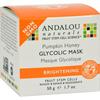 Andalou Naturals Glycolic Brightening Mask Pumpkin Honey - 1.7 fl oz HGR 0787499