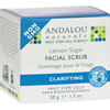 Andalou Naturals Clarifying Facial Scrub Lemon Sugar - 1.7 fl oz HGR 0788141