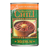 Organic Low Sodium Medium Chili - Case of 12 - 14.7 oz.