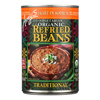Organic Light In Sodium Traditional Refried Beans - Case of 12 - 15.4 oz.