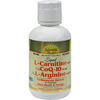 Dynamic Health Liquid L-Carnitine with CoQ-10 plus L-Arginine Lemon Lime - 16 fl oz HGR 0794453