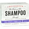 J.R. Liggett's Old-Fashioned Bar Shampoo Tea Tree and Hemp Oil Formula - 3.5 oz HGR 0794529