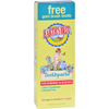 Oral Care Childrens: Earth's Best - Toddler Toothpaste Strawberry Banana - 1.6 oz