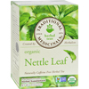 Organic Nettle Leaf Herbal Tea - 16 Tea Bags - Case of 6