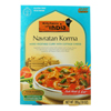 Dinner - Mixed Vegetable Curry with Cottage Cheese - Navratan Korma - 10 oz.. - case of 6