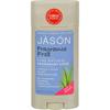 Jason Natural Products Deodorant Stick Natural Fragrance Free - 2.5 oz HGR 0798793