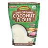 Let's Do Organics Organic Flour - Coconut - Case of 6 - 16 oz.. HGR0799007