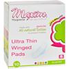 Feminine Hygiene Maxi Pads: Maxim Hygiene Products - Maxim Hygiene Natural Cotton Ultra Thin Winged Pads Overnight - 10 Pads