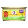 Wellness Pet Products Cat Food - Turkey Recipe - Case of 24 - 3 oz.. HGR 0806331
