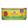 Wellness Pet Products Cat Food - Turkey Recipe - Case of 24 - 5.5 oz.. HGR 0806356