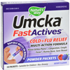 Cough & Cold: Nature's Way - Umcka FastActives Cold Plus Flu Relief Berry - 10 Packets