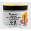 Nourish Organic Raw Shea Butter Intensive Moisturizer - 5.5 oz HGR 0810770
