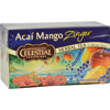 Celestial Seasonings Herbal Tea Caffeine Free Acai Mango Zinger - 20 Tea Bags - Case of 6 HGR 0813758